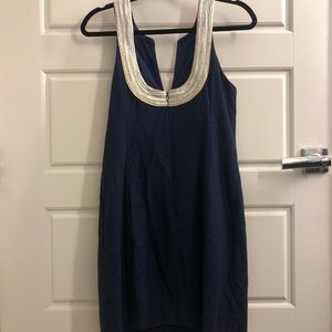Lilly Pulitzer Dresses - Lilly Pulitzer Navy Nautical Shift Dress
